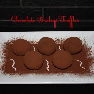 Chocolade Baileys Truffels