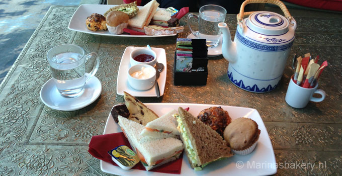High tea & chocolade fondue ChocOase Haarlem