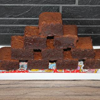 Brownies voor foodbloggers