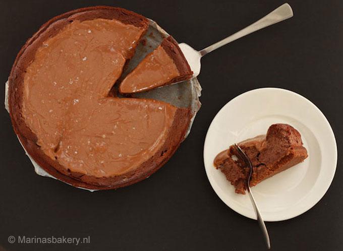 chocolade dulce de leche cheesecake