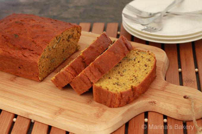 amandel-pompoenbrood