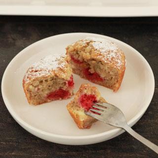 Frambozen muffins