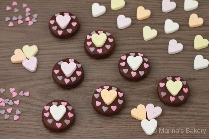 Valentijn Oreo Koekjes