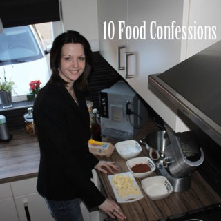10 Food Confessions Tag