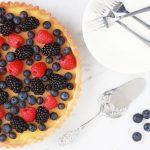 Crostata met citrus en bosvruchten