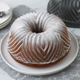 Pompoen Bundt Cake met Cream Cheese Frosting