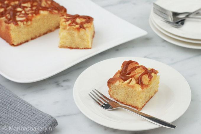 Cake-specials-appel-karamel-met-karamelsaus