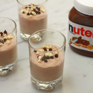 Supersnelle Nutella Chocolademousse