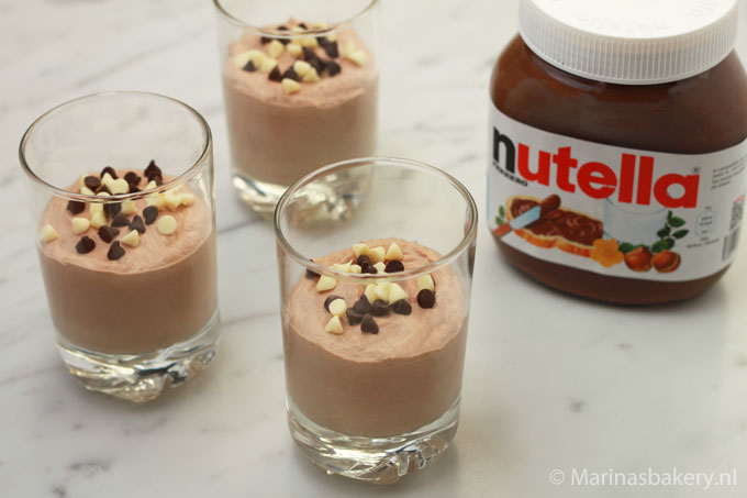 Supersnelle Nutella Chocolademousse