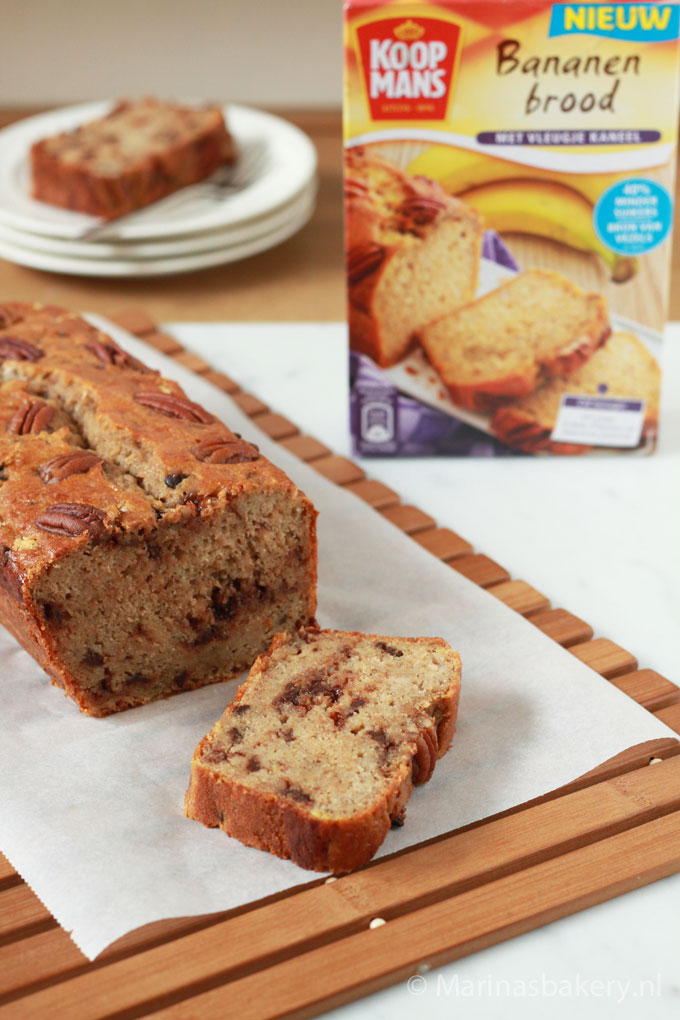 Chocolade-Bananenbrood