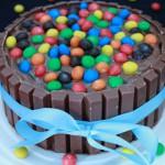 KitKat M&M Taart