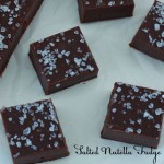 Salted Nutelle Fudge