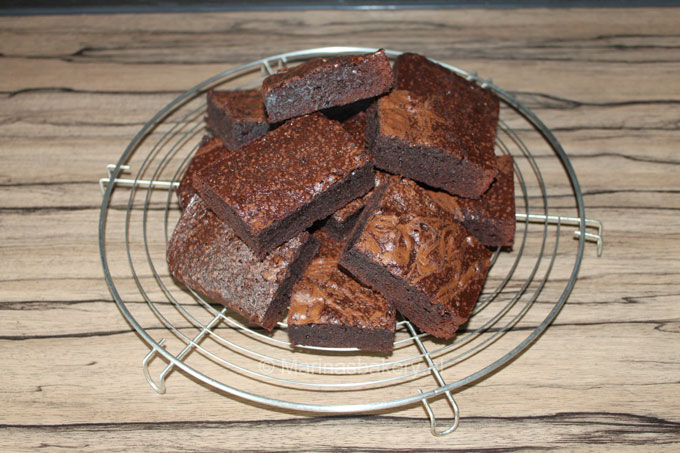 Snelle Brownies van Donna Hay