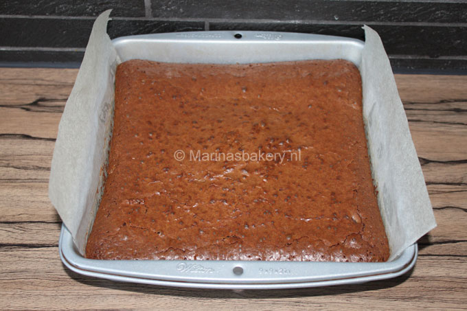 Brownies voor foodbloggers