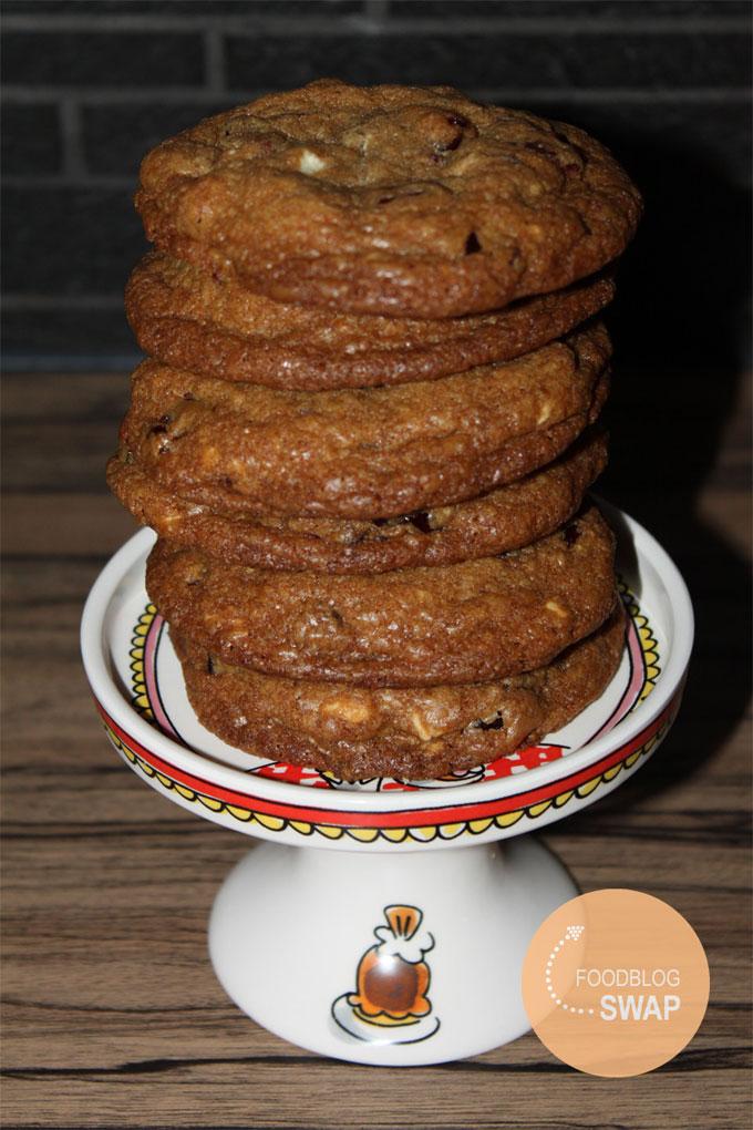 cranberry witte chocolade koekjes