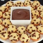 Mini Pancakes met chocolate chips