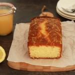 Citroencake met lemon curd