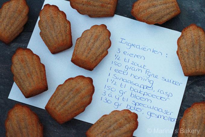 winterse madeleines
