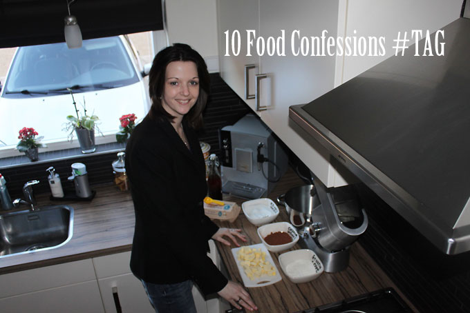 10 Food Confessions #TAG