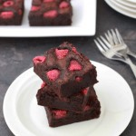 Frambozen Brownies