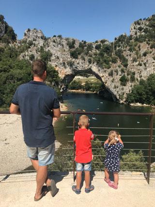 Vakantie Zuid-Frankrijk Camping La Bastide en Ardèche