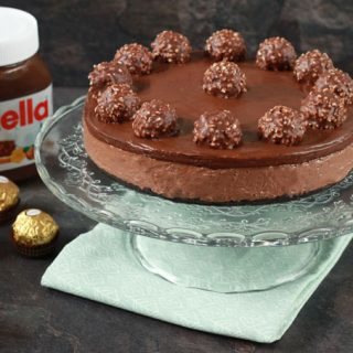 No-Bake-Nutella-Cheesecake